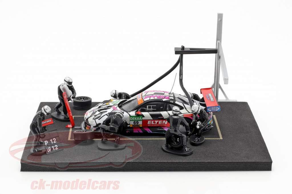 Iron Force Calendario de Adviento: Porsche 911 (991) GT3 R #69 Iron Force 1:43 CMR