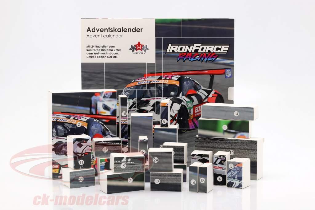Iron Force Calendrier de l'Avent: Porsche 911 (991) GT3 R #69 Iron Force 1:43 CMR