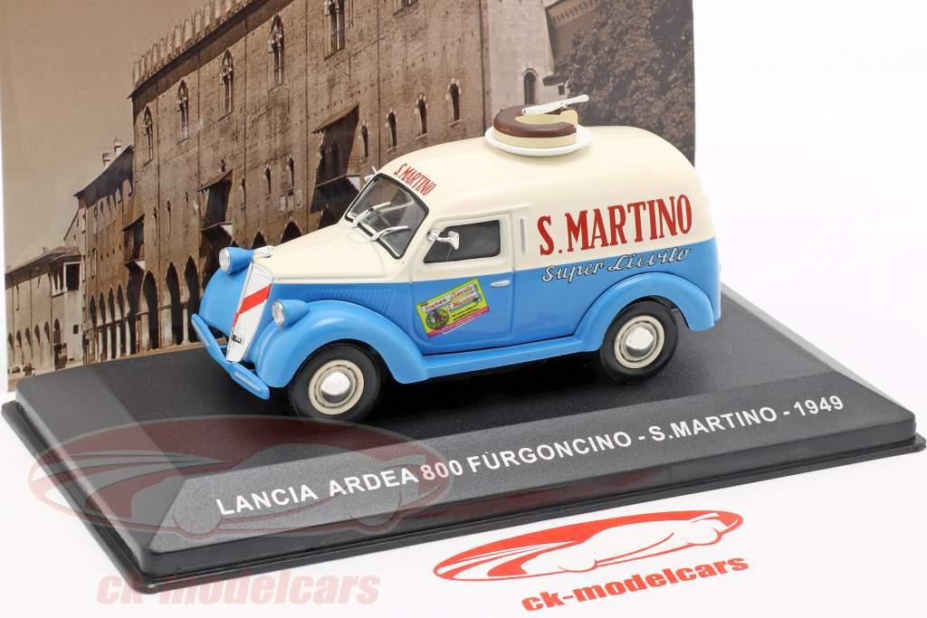 Lancia Ardea 800 furgone S. Martino anno di costruzione 1949 crema bianco / blu  1:43 Altaya