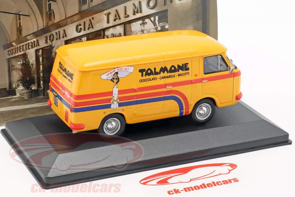 Fiat 238 furgoneta Talmone año de construcción 1970 naranja 1:43 Altaya