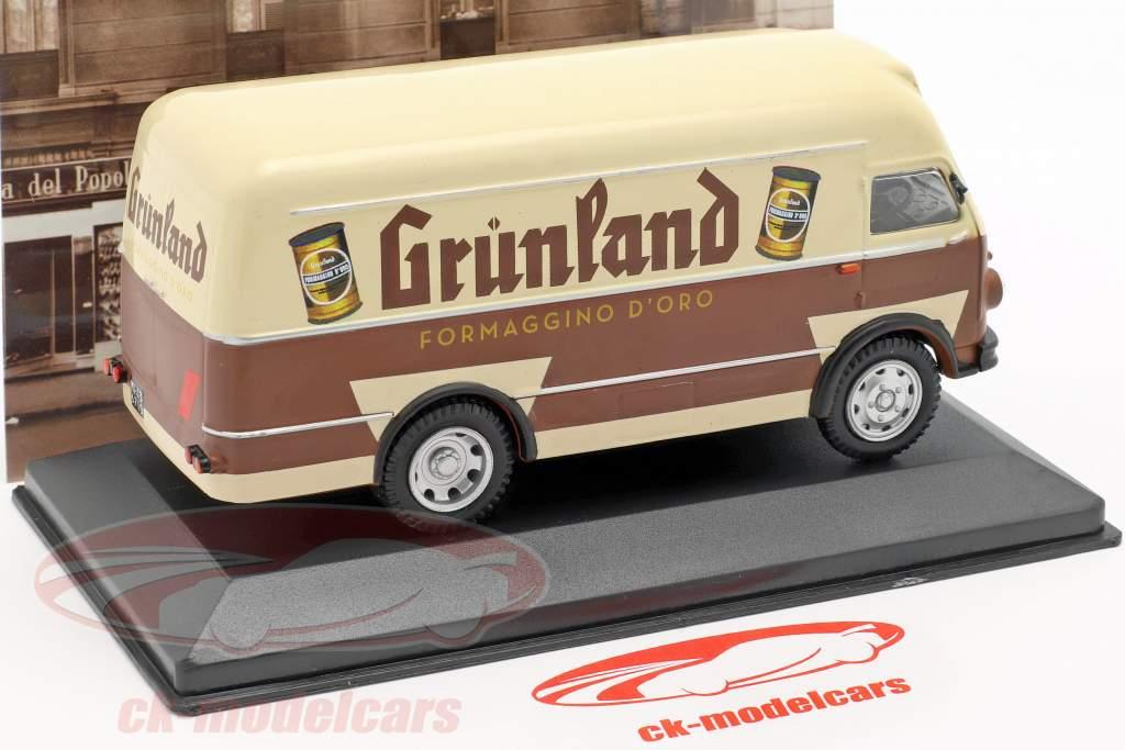 OM Leoncino van Grünland Opførselsår 1959 brun / beige 1:43 Altaya