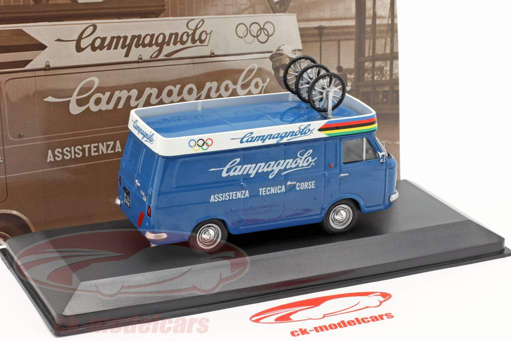 Fiat 238 van Campagnolo Opførselsår 1972 blå 1:43 Altaya
