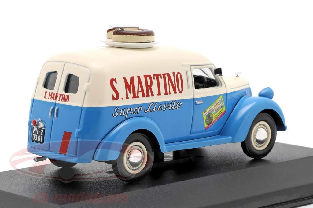 Lancia Ardea 800 van S. Martino année de construction 1949 crème blanc / bleu  1:43 Altaya