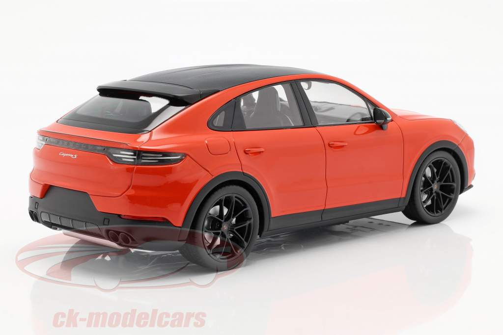 Porsche Cayenne S Coupe Baujahr 2019 lava orange 1:18 Norev