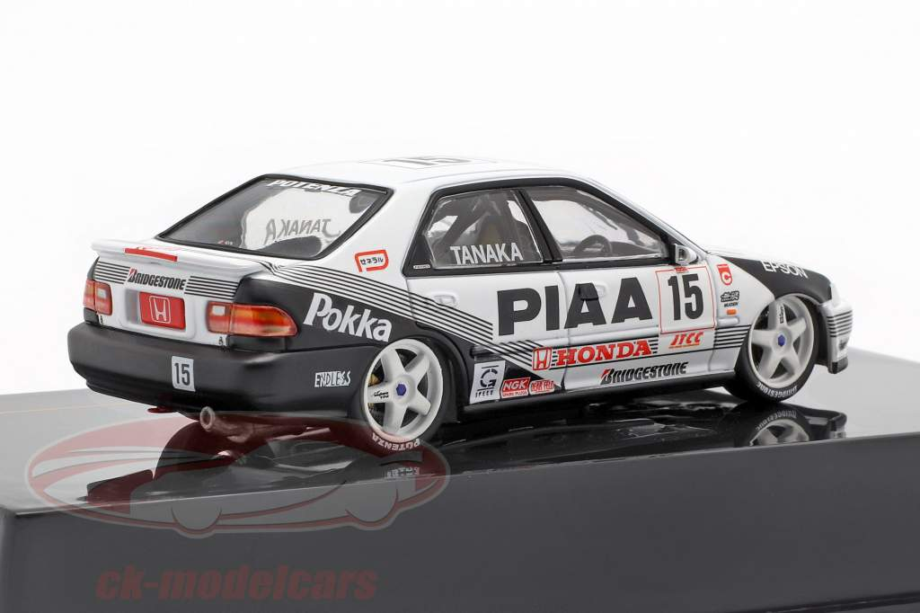 Honda Civic EG9 #15 JTCC 1994 Tetsuyo Tanaka 1:43 Ixo
