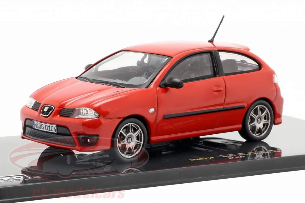 Seat Ibiza Cupra Tdi année de construction 2006 rouge 1:43 Ixo
