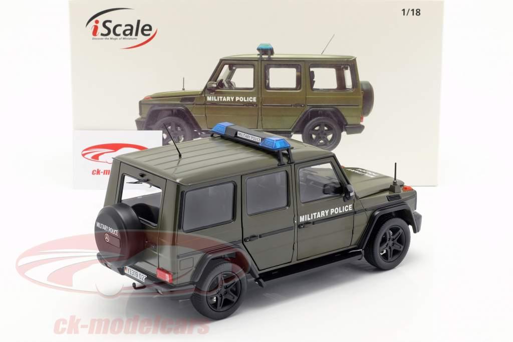Mercedes-Benz G-classe (W463) 2015 polícia militar 1:18 iScale