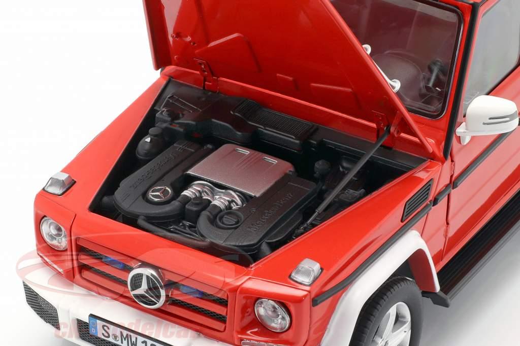 Mercedes-Benz Classe G (W463) 2015 vigili del fuoco 1:18 iScale