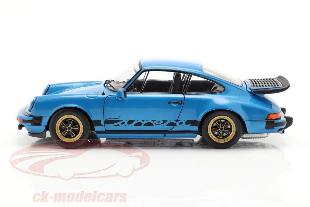 Porsche 911 (930) 3.0 Coupe Baujahr 1984 minerva blau 1:18 Solido