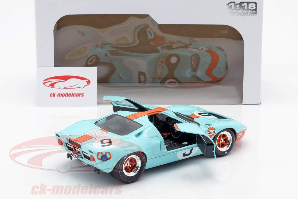 Ford GT40 Gulf #9 vincitore 24h LeMans 1968 Rodriguez, Bianchi 1:18 Solido