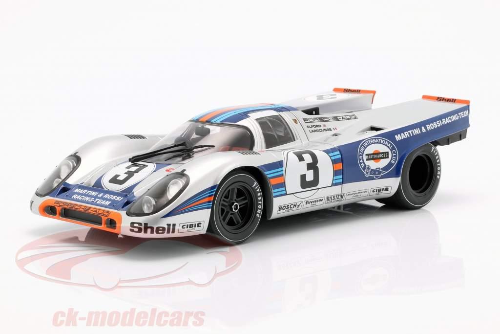 Porsche 917K #3 winnaar 12h Sebring 1971 Elford, Larrousse 1:18 CMR