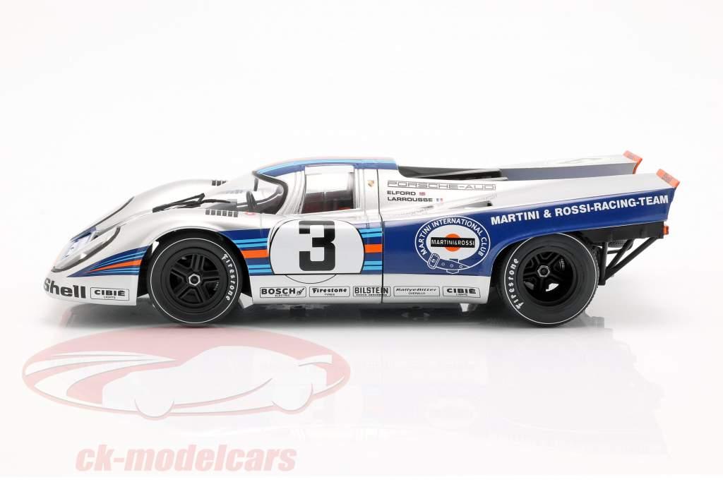 Porsche 917K #3 ganador 12h Sebring 1971 Elford, Larrousse 1:18 CMR