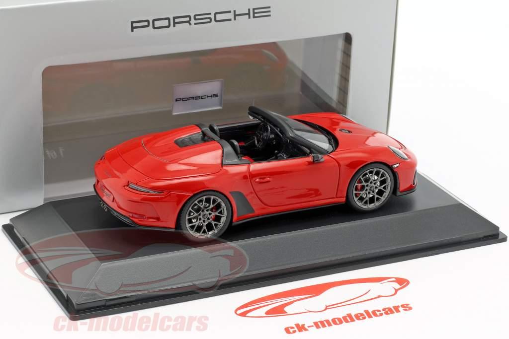 Porsche 911 (991 II) Speedster Concept 2019 vagter rød 1:43 Spark