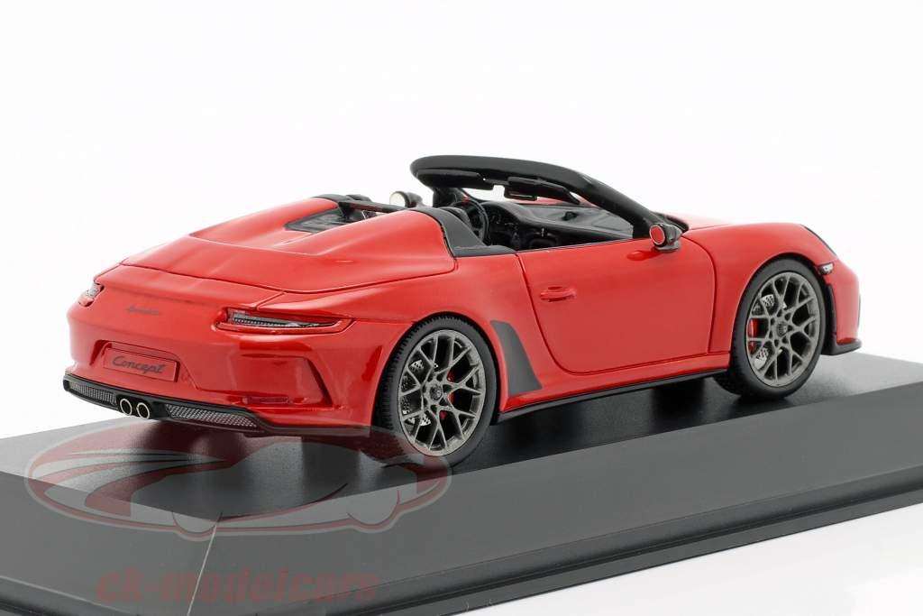 Porsche 911 (991 II) Speedster Concept 2019 gardes rouge 1:43 Spark