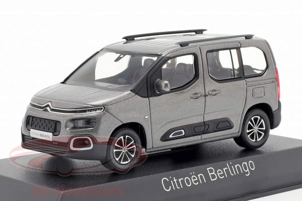 Citroen Berlingo Opførselsår 2018 platinium grå 1:43 Norev
