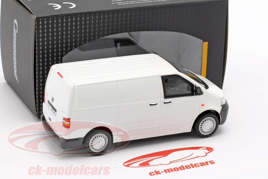 Volkswagen VW T5 autobus anno di costruzione 2010 bianco 1:43 Cararama