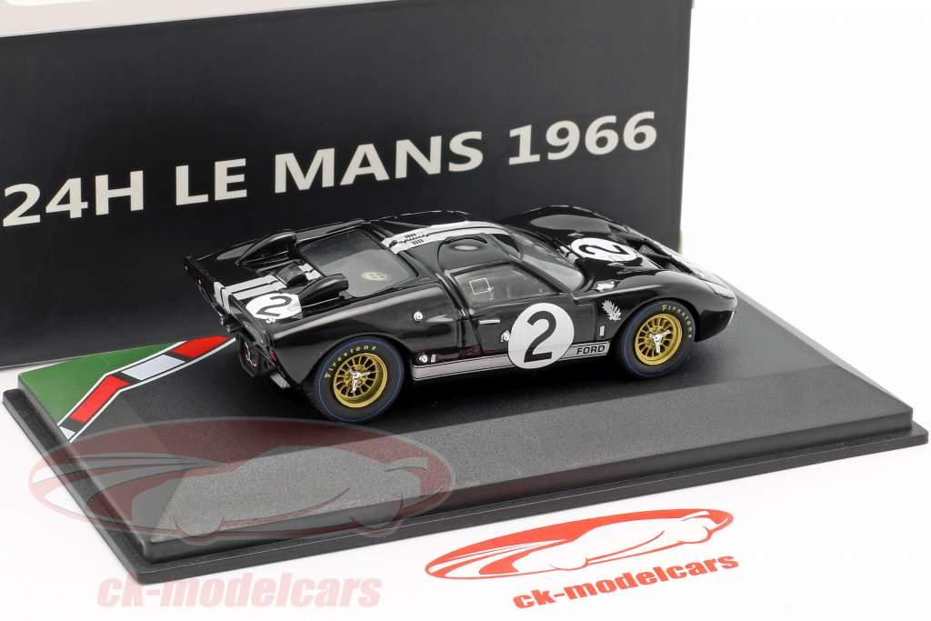 Ford GT40 MK II #2 vincitore 24h LeMans 1966 McLaren, Amon 1:43 CMR