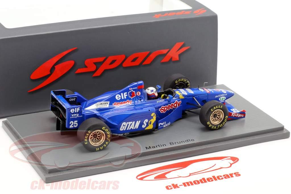 Martin Brundle Ligier JS41 #25 3rd Belgian GP formula 1 1995 1:43 Spark