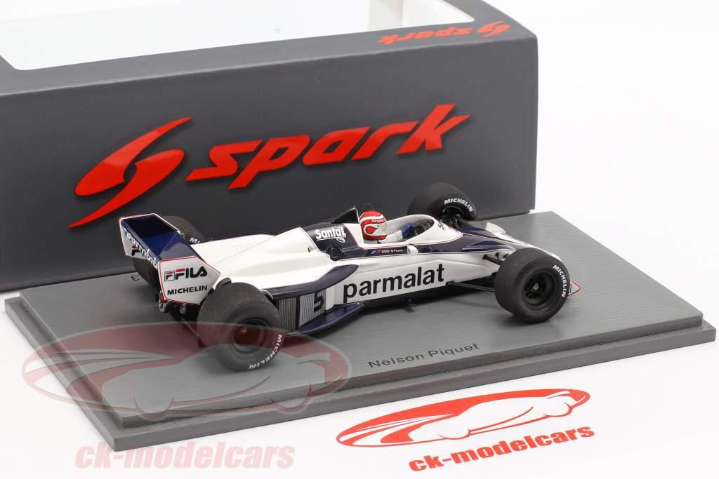 Nelson Piquet Brabham BT52 #5 Brasilien GP Weltmeister F1 1983 1:43 Spark