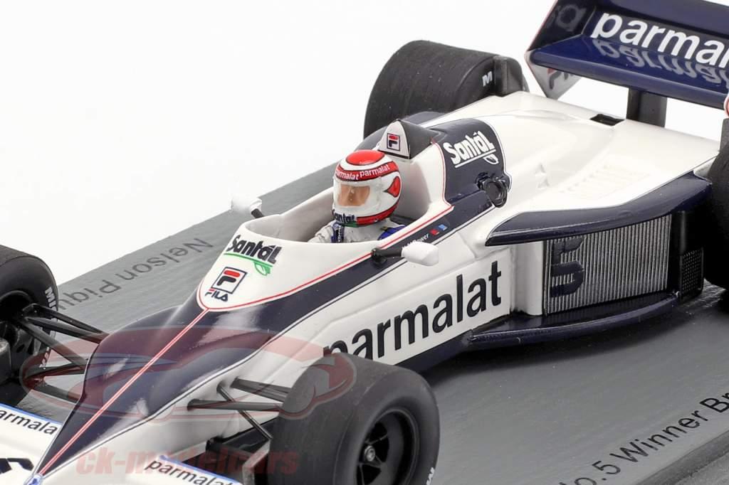 Nelson Piquet Brabham BT52 #5 Brazilië GP wereldkampioen F1 1983 1:43 Spark