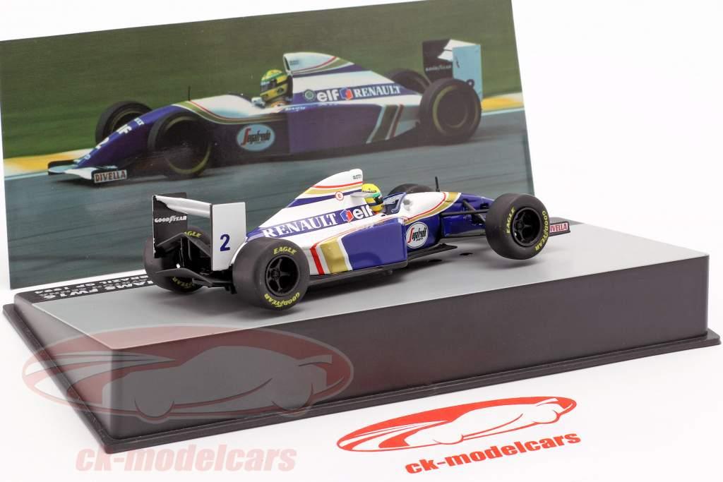Ayrton Senna Williams FW16 #2 Brésil GP formule 1 1994 1:43 Altaya
