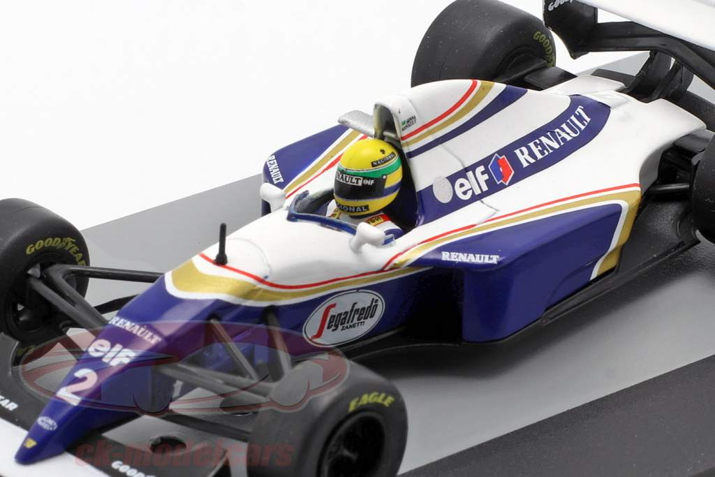 Ayrton Senna Williams FW16 #2 Brasilien GP Formel 1 1994 1:43 Altaya