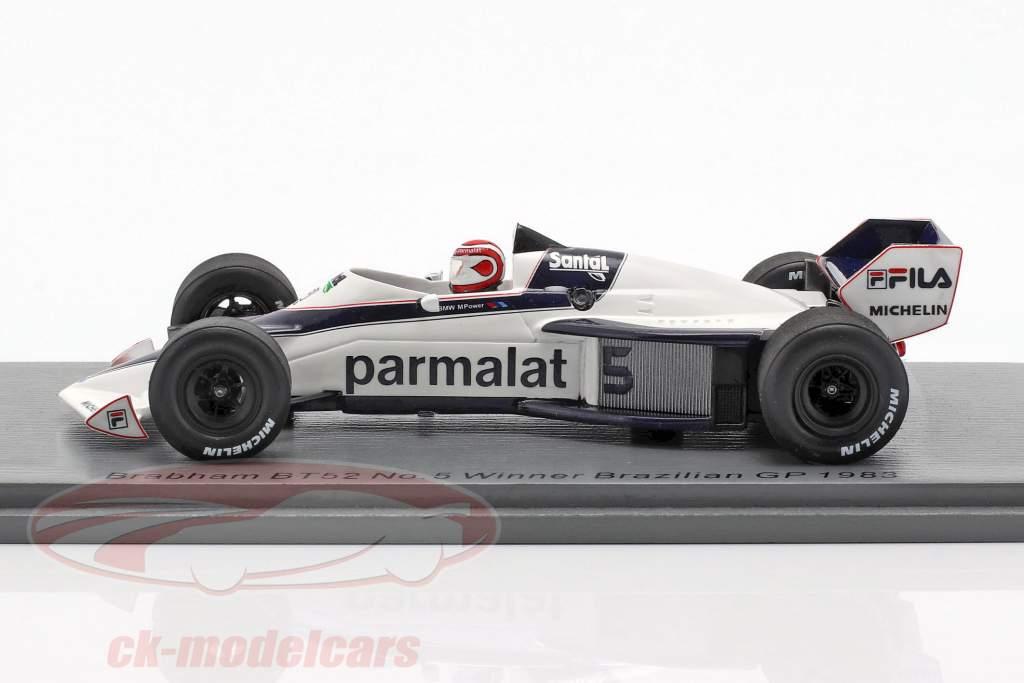 Nelson Piquet Brabham BT52 #5 Brazil GP World Champion F1 1983 1:43 Spark