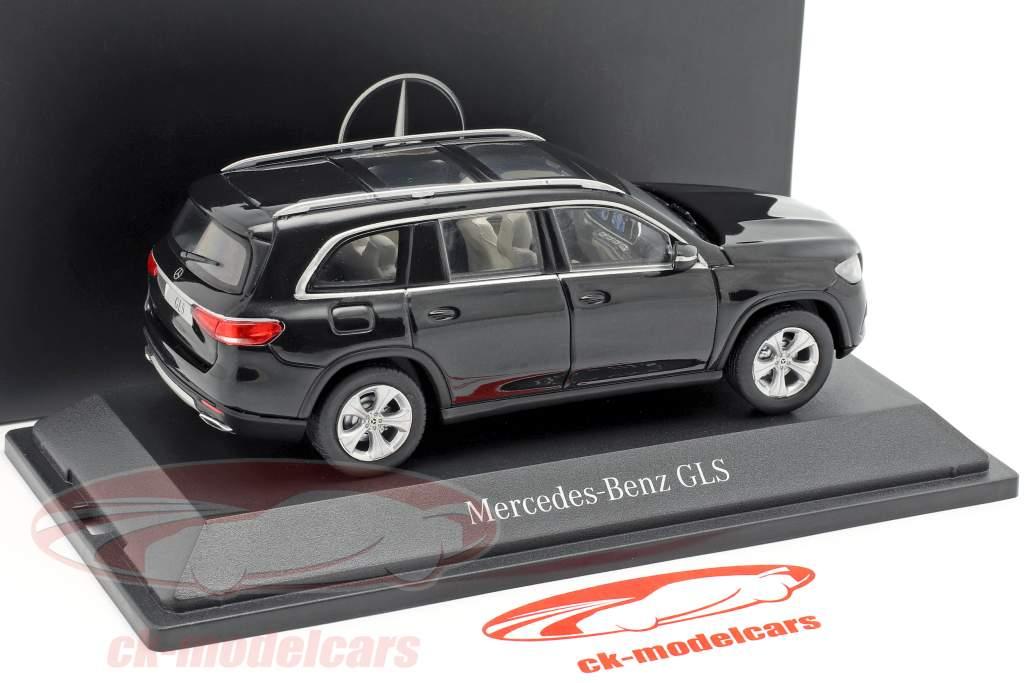 Mercedes-Benz classe GLS (X167) ano de construção 2019 obsidian preto 1:43 Z-Models