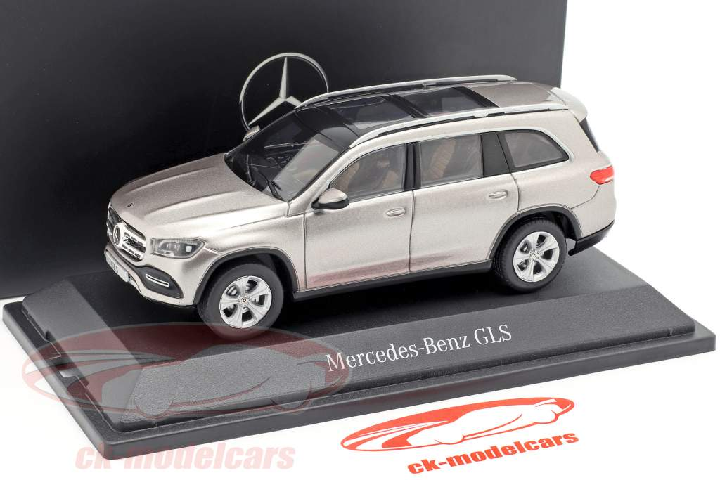 Mercedes-Benz GLS class (X167) year 2019 mojave silver 1:43 Z-Models