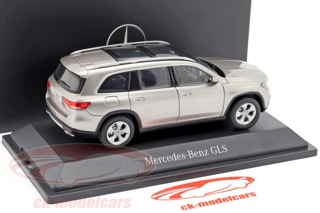Mercedes-Benz GLS klasse (X167) Bouwjaar 2019 mojave zilver 1:43 Z-Models