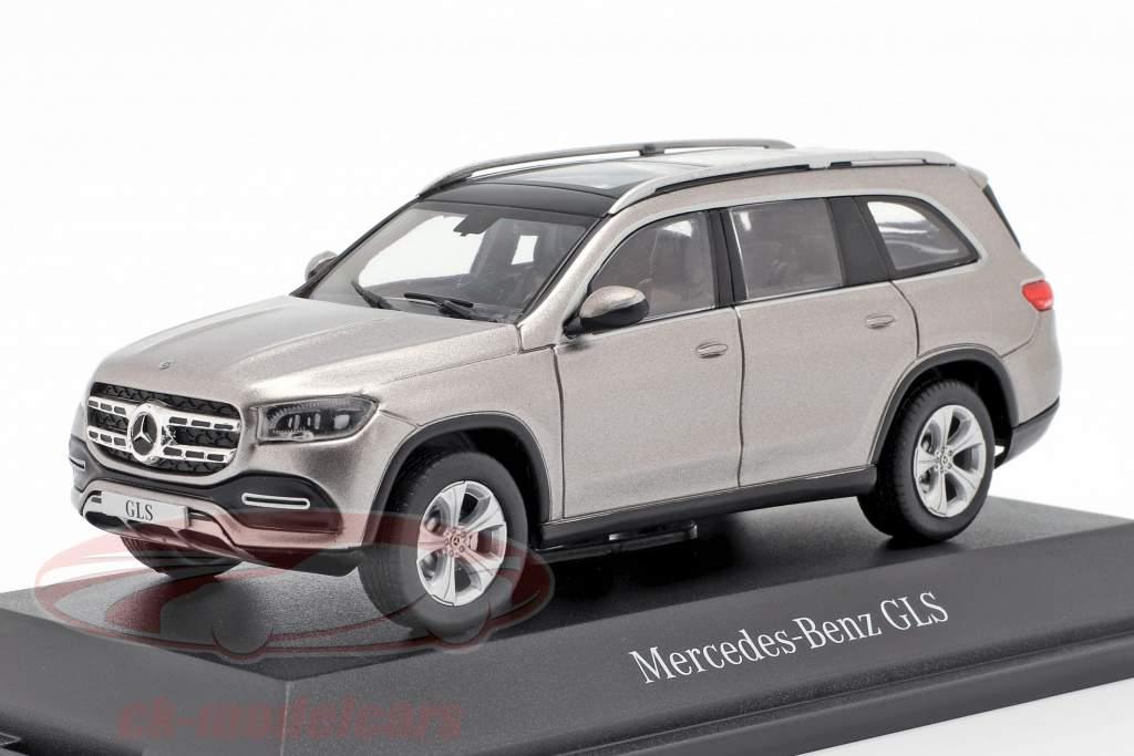 Mercedes-Benz classe GLS (X167) année de construction 2019 mojave argent 1:43 Z-Models