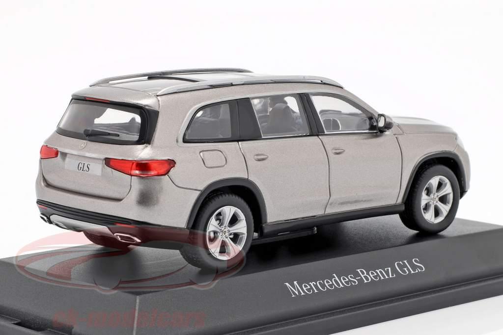 Mercedes-Benz classe GLS (X167) ano de construção 2019 mojave prata 1:43 Z-Models