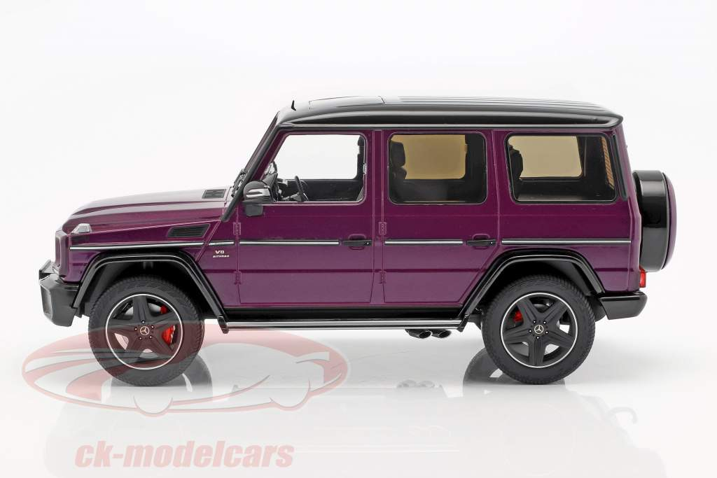 Mercedes-Benz G-Klasse G63 AMG Crazy Colors galacticbeam lilla 1:18 iScale
