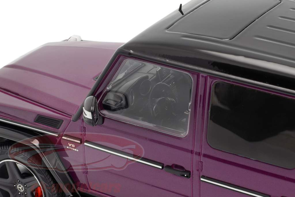 Mercedes-Benz G-Klasse G63 AMG Crazy Colors galacticbeam purple 1:18 iScale