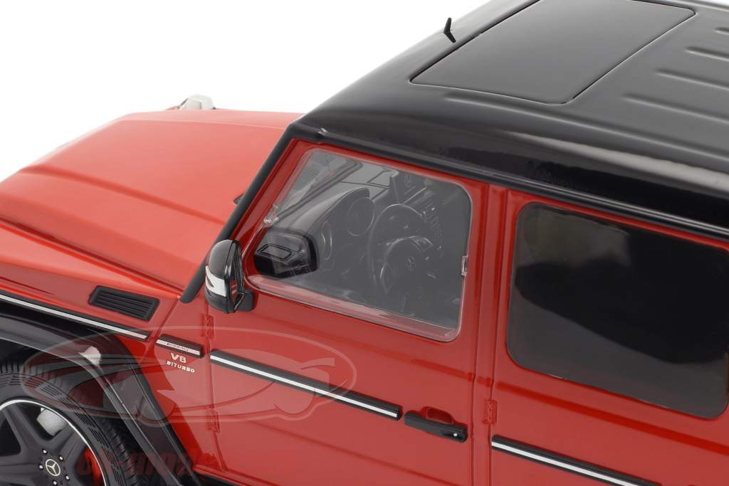 Mercedes-Benz G-Klasse G63 AMG Crazy Colors tomates rouge 1:18 iScale