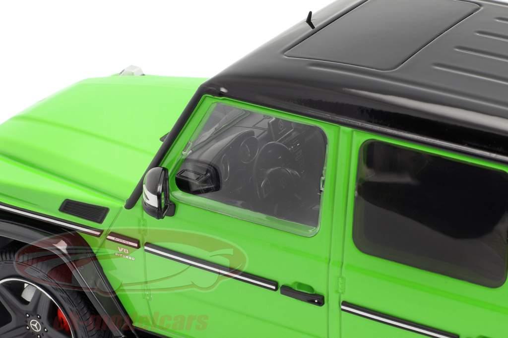 Mercedes-Benz G-Klasse G63 AMG Crazy Colors alien grøn 1:18 iScale
