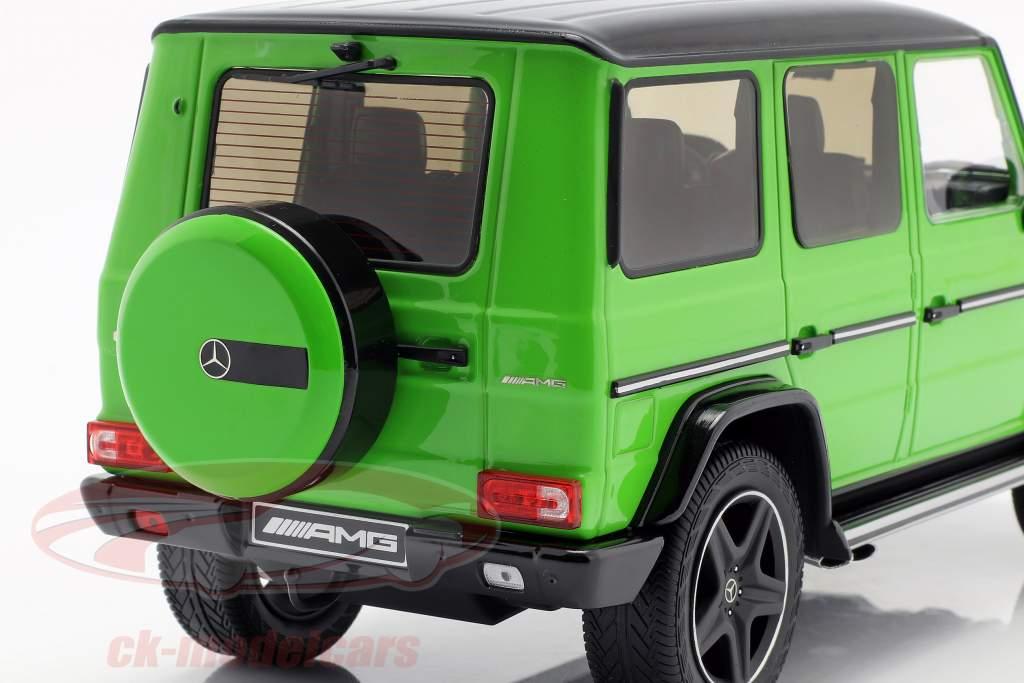 Mercedes-Benz G-Klasse G63 AMG Crazy Colors alieno verde 1:18 iScale