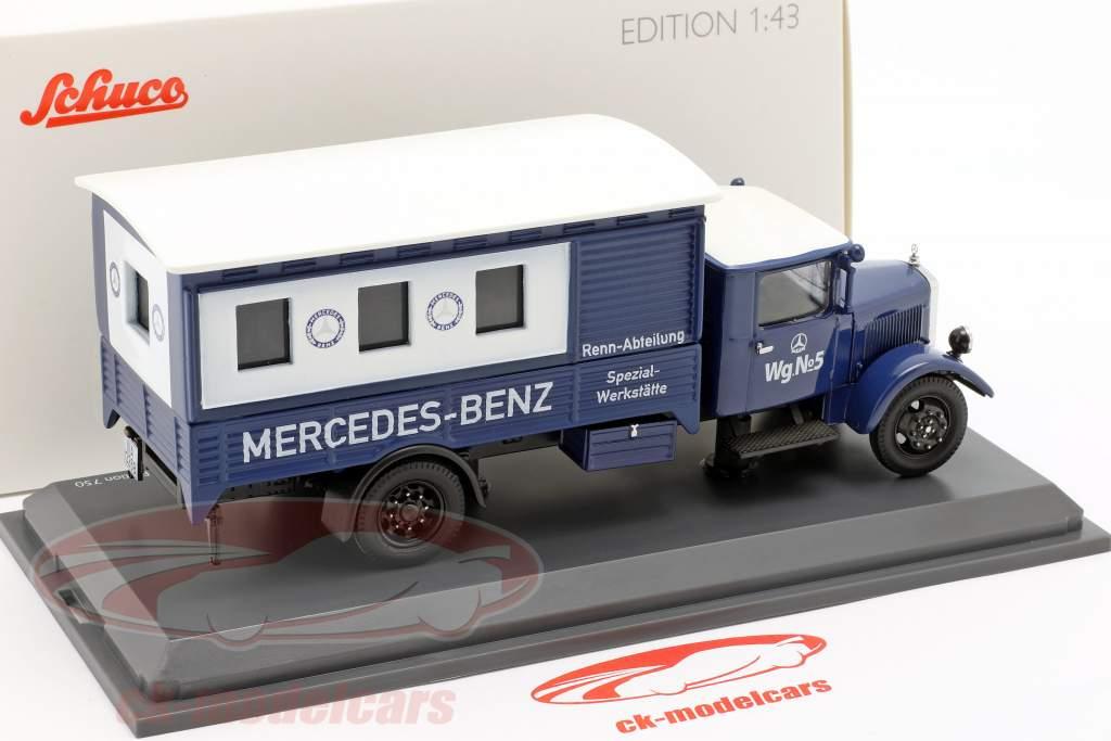 Mercedes-Benz Lo 2750 Rennabteilung oficinas especializadas 1:43 Schuco
