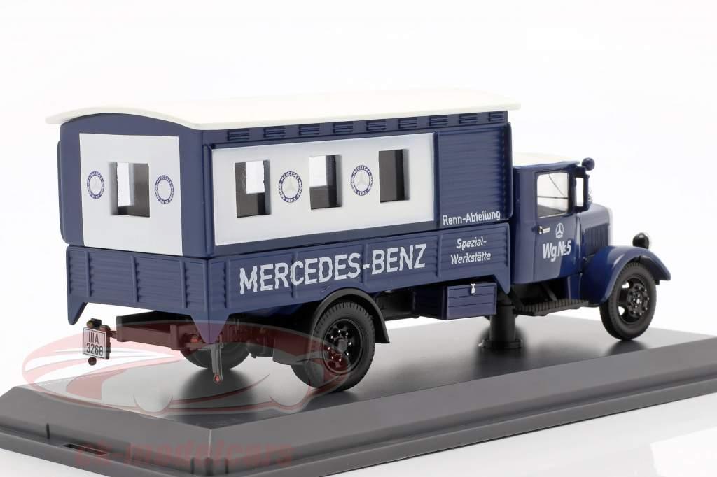Mercedes-Benz Lo 2750 Rennabteilung talleres especializados 1:43 Schuco