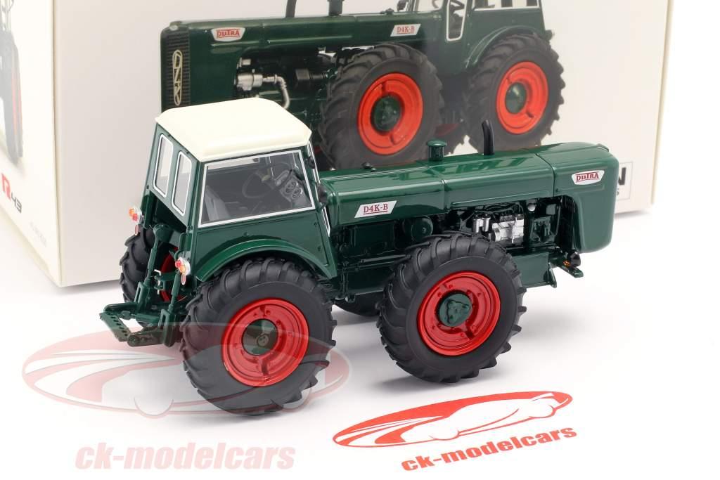 Dutra D4K B trator verde 1:43 Schuco