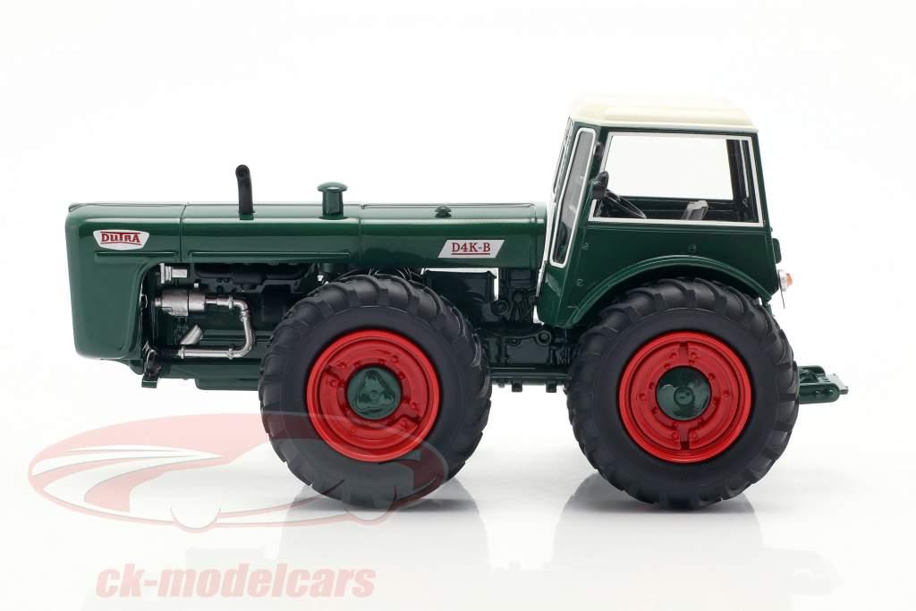 Dutra D4K B tractor groen 1:43 Schuco