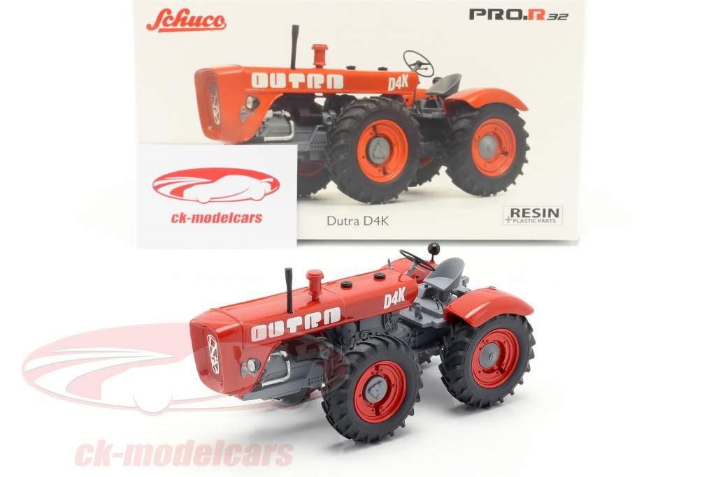 Dutra D4K tractor rojo 1:32 Schuco