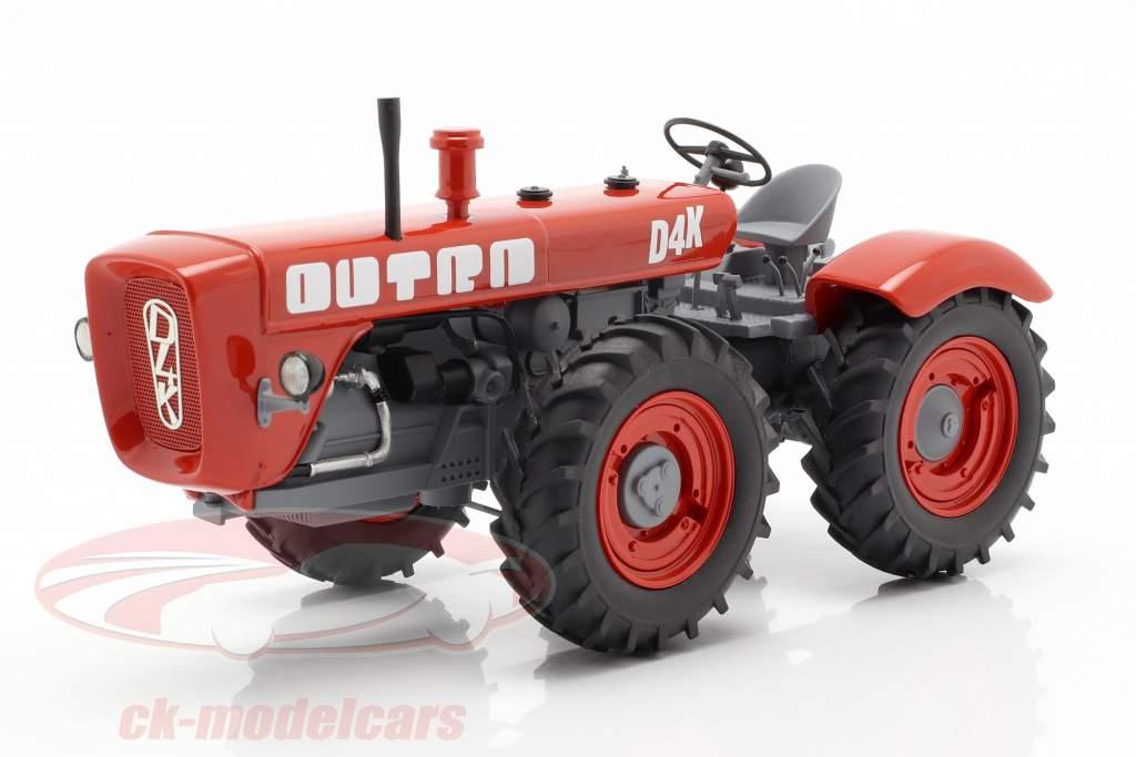Dutra D4K tracteur rouge 1:32 Schuco