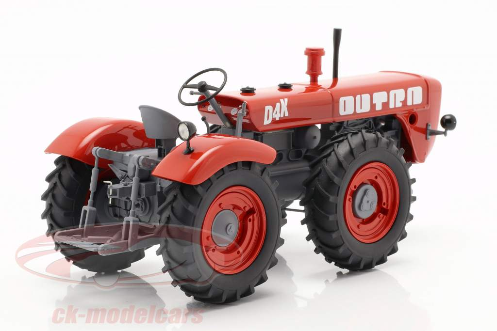 Dutra D4K trattore rosso 1:32 Schuco