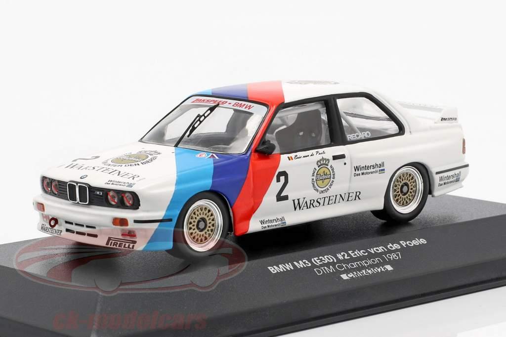 BMW M3 (E30) #2 DTM campione 1987 Eric van de Poele 1:43 CMR