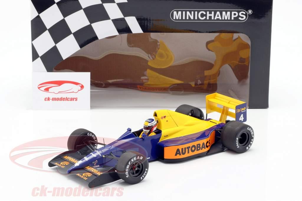 Jean Alesi Tyrrell 018 #4 日本の GP 式 1 1989 1:18 Minichamps