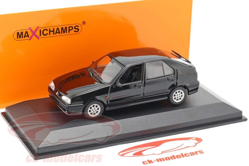 Renault 19 Bouwjaar 1995 zwart 1:43 Minichamps