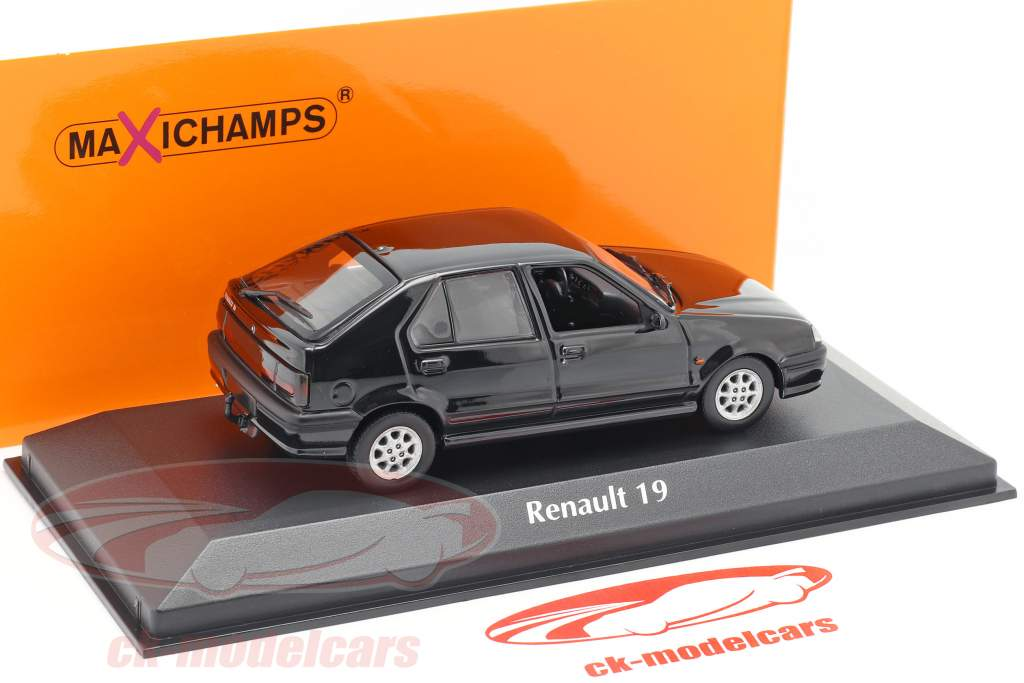 Renault 19 year 1995 black 1:43 Minichamps