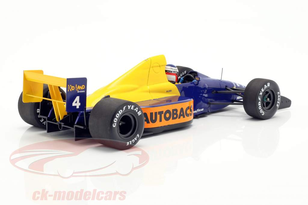 Jean Alesi Tyrrell 018 #4 Japan GP Formel 1 1989 1:18 Minichamps