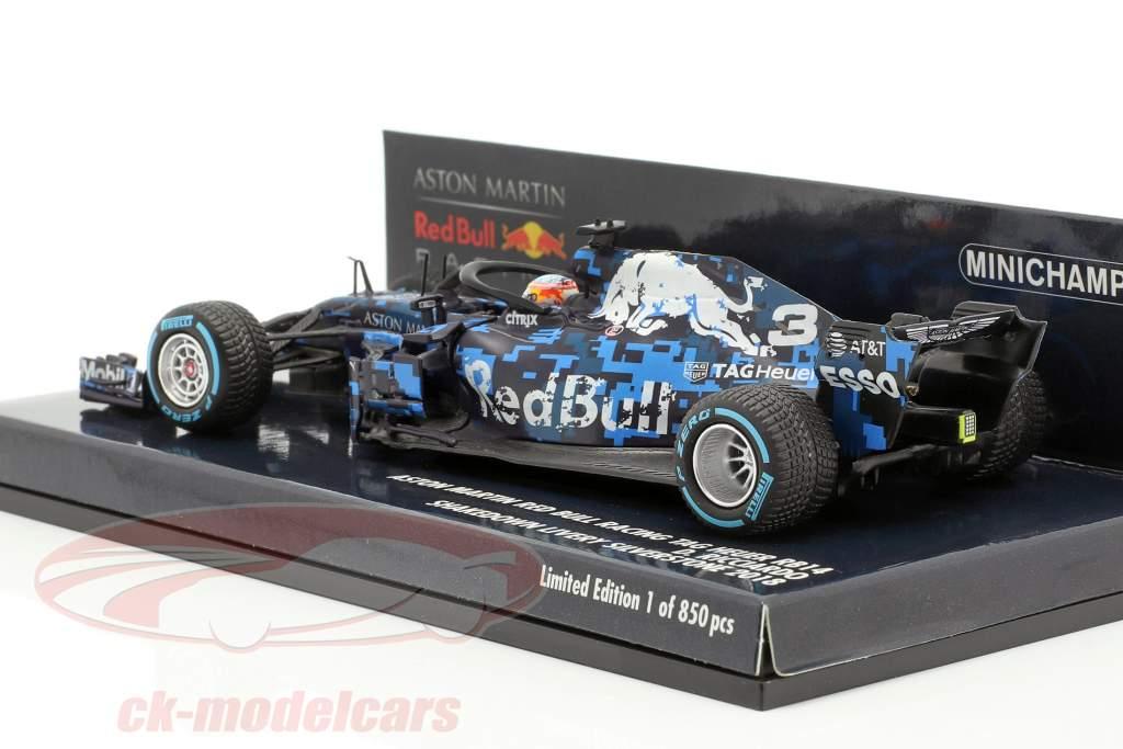 D. Ricciardo Red Bull Racing RB14 #3 F1 Shakedown Silverstone 2018 1:43 Minichamps